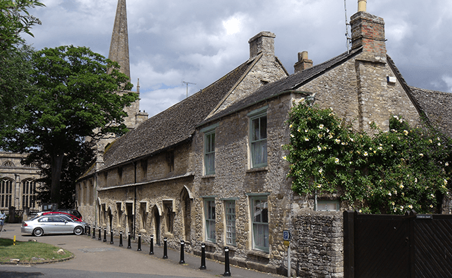 Almshouse in Witney, Oxfordshire